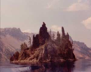 Crater Lake National Park, Phantom Ship Island
